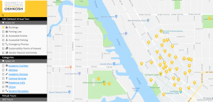 Oshkosh Campus Map.Uw Oshkosh Campus Map Park Ideas