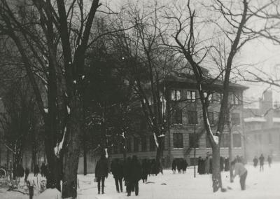 March 22, 1916: The Oshkosh Normal School is destroyed by fire.