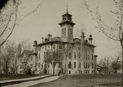 1877: The Oshkosh Normal School opens.