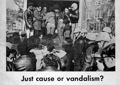 December 5, 1968: The campus community discusses the events of Black Thursday and what it means for civil rights on campus.