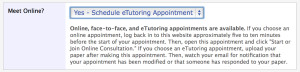 eTutoring Appointment1